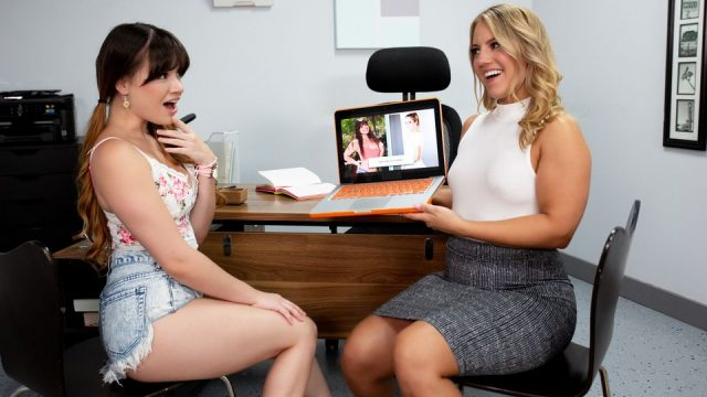 [Girlsway] Candice Dare, Alison Rey (Conflict Of Interest / 12.06.2020)