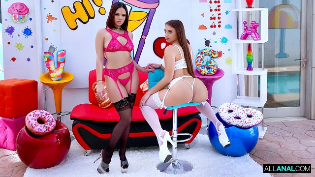 [AllAnal] Gia Derza, Violet Starr (Violet And Gia's Anal Rematch / 01.12.2021)
