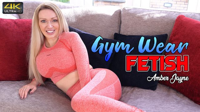 [WankitNow] Amber Jayne (Gym Wear Fetish / 01.01.2021)
