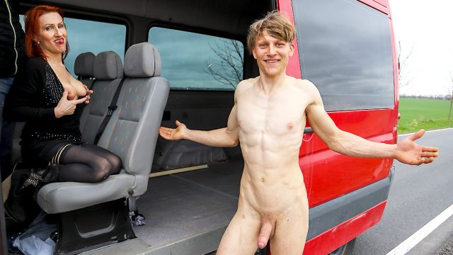 [MatureVan] Emily Devine (Fuck an old lady in a van / 04.09.2021)