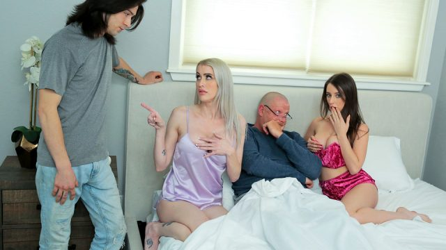 [FamilySwap] Charly Summer, Katie Monroe (Taking Care Of Swap Dad On Fathers Day – S3:E4 / 06.12.2021)